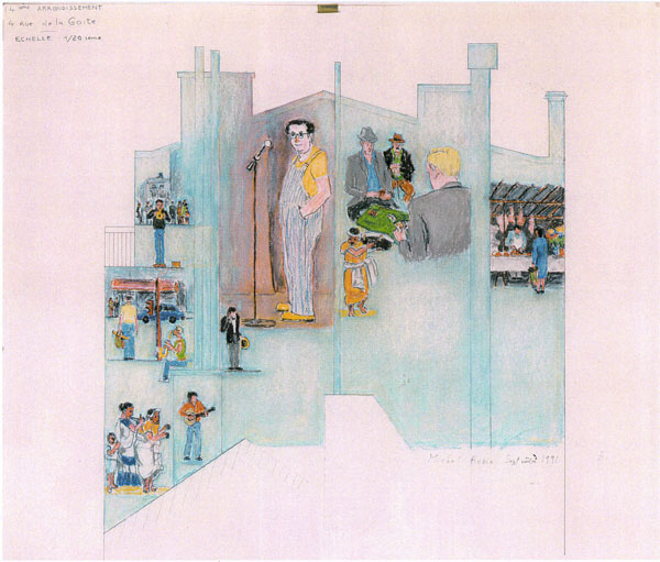 Parcours et cv michel robin - Decoration des mures ...